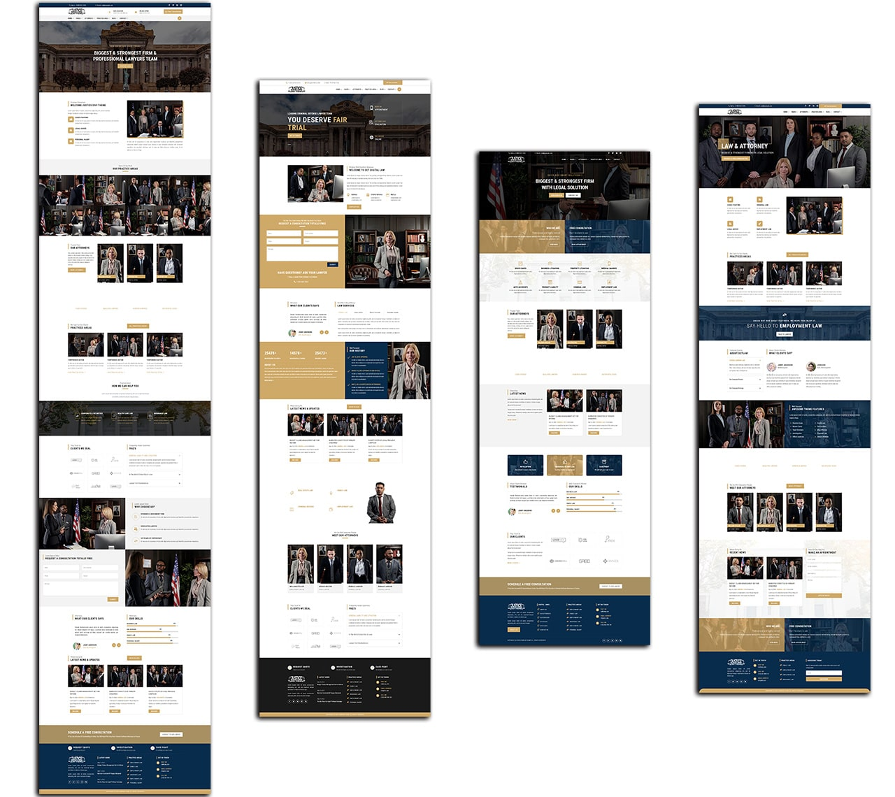 Divi-justice-Theme-All-Pages