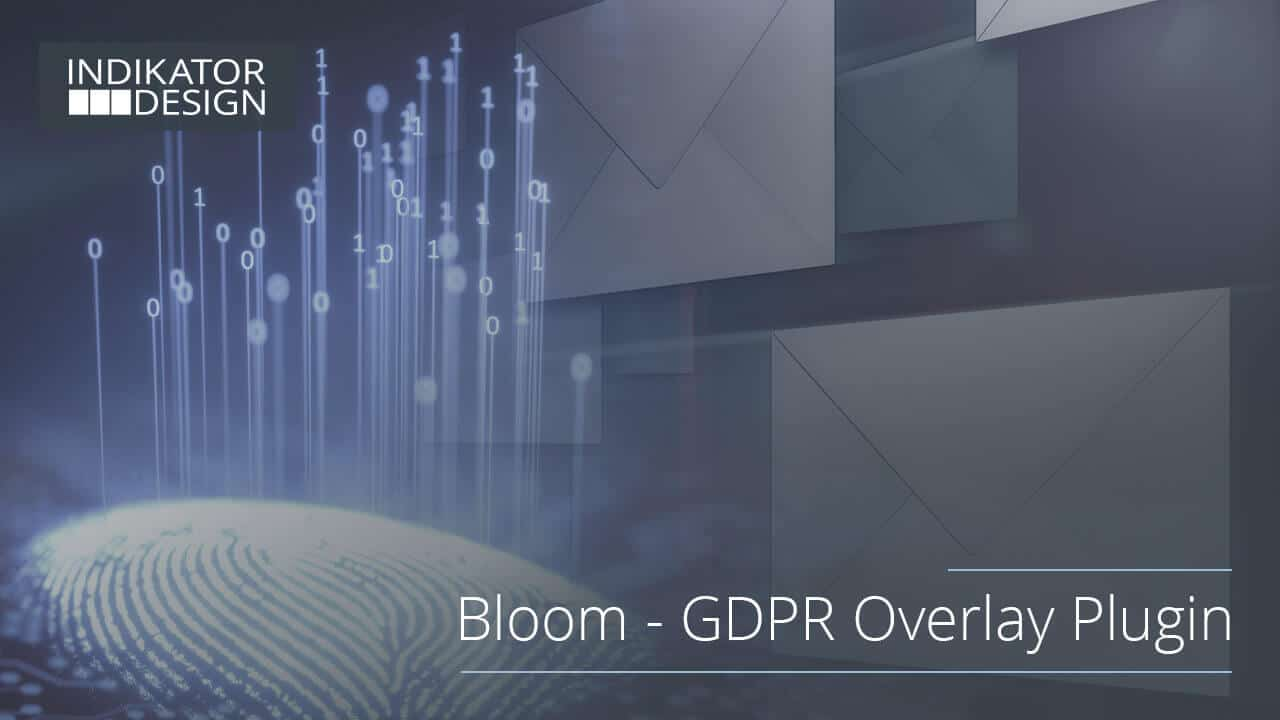 Intuitively bring Bloom in line with the new GDPR regulations
